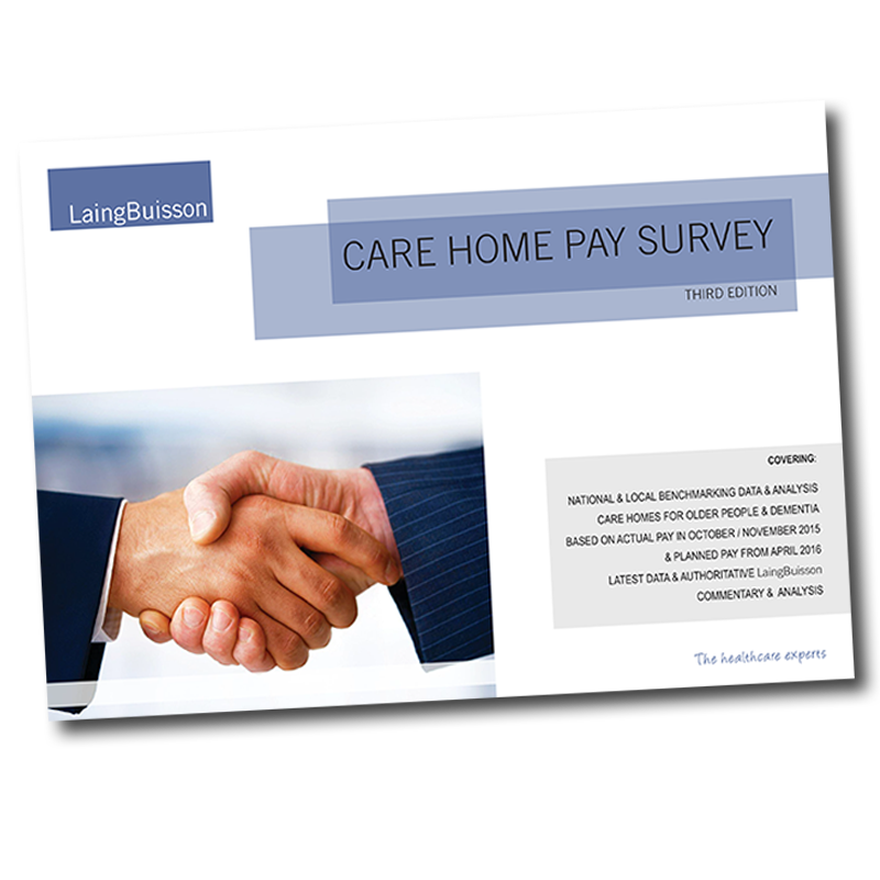 care home pay survey